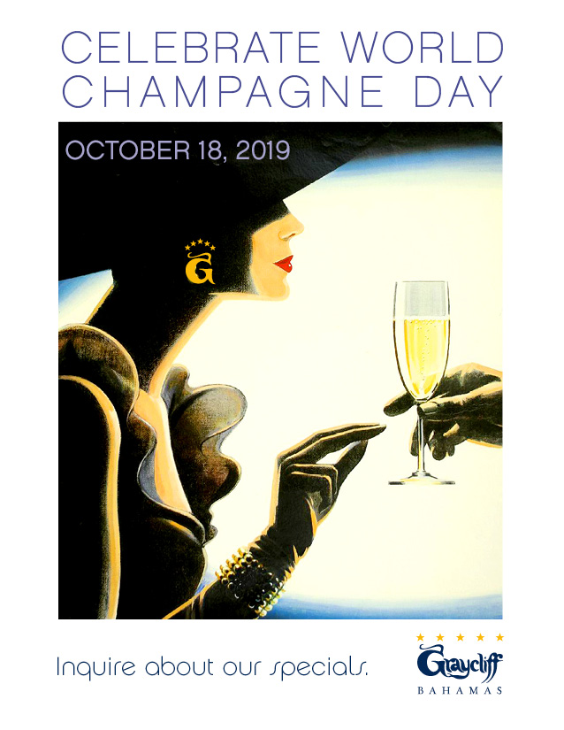 Oct 18, 2019 Is World Champagne Day – We're Celebrating And Hope You Will Too!